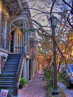 Savannah's Landmark Historic District USA