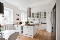 Björkbacksvägen 49, Bromma / Ulvsunda Kitchen Cabinets, Home Decor, Decoration Home, Room Decor, Cabinets, Home Interior Design, Dressers, Home Decoration, Kitchen Cupboards