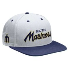 COOPERSTOWN SNAPBACK SEATTLE MARINERS HAT