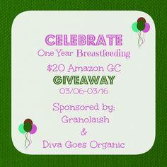 One Year of Breastfeeding Giveaway! - Granolaish
