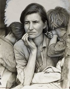 this photo will always be my visual when someone mentions the 30s in America. dorothea lang.