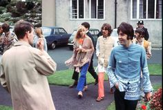 George Harrison, Richard Starkey, and Paul McCartney (Love this pic for some reason... I think it is their outfits! <3)