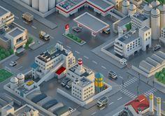 Mini City 01 on Behance