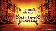 B.U.G. Mafia - Sa Cante Trompetele (feat. Feli) (Piesa Oficiala) Mafia, Bugs, Rap, Hip Hop, Places To Visit, Things To Come, Youtube, Movie Posters, Instagram