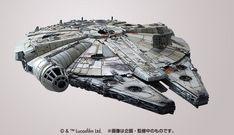 Bandai Star Wars 1/144 Scale Millennium Falcon