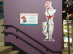 dr seuss teacher appreciation | Hats Off To Our Teachers! Dr. Seuss Themed Teacher Appreciation Week ...