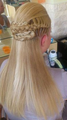 Half braided style
