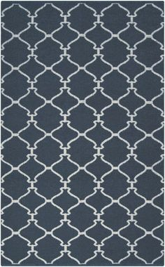 To match the slate striped curtains? Surya Juniper JNP635 Midnight Blue Rug