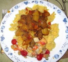 ZELDA'S CURRY WORS DISH Sweet Chili, Curry Powder, Tomato Paste, Chutney, Fries, Dishes, Vegetables, Recipes, Food