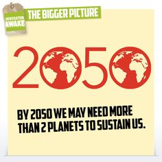 According to the Global Footprint Network, today marks the date when humanity has used more ecological resources than the planet can renew sustainably in 2014! #oShoot