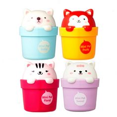 kawaii lotion | We got the Floral and Baby Powder pots. Aren't they super cute?
