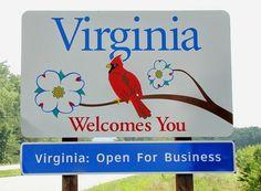 Virginia welcome sign Virginia Homes, Virginia Beach, West Virginia, Roanoke Virginia, Richmond Virginia, Washington Dc, Honey And Warm Water, Virginia Is For Lovers, Old Dominion