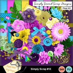 Page kit for the Simply Scrap kit #10. Personal & Scrap for Hire use only. Full size. 300 dpi. 12 x 12. Cardstock, Patterned Papers, Beads, Bows, Brads, Buttons, Corners, Flowers, Frames, Leaves, Masks, Ribbons, Scatters, Wrappers #mymemories #mymemoriessuite #scrapbooking #digitalscrapbooking #digiscrapbooking #digitalscrapbookkits #kits #papers #elements #tags #frames #flowers #digitalflowers #digitalpapers #digitalribbons #digitalbows #digitalframes #digitalscatters #digitalmasks