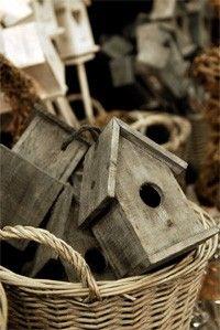 Leuke vogelhuisjes