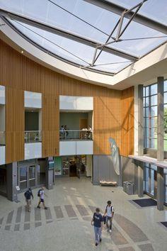 Hornberger + Worstell : The WELL – Recreation Wellness Center Athletic Center, Sign System, Wellness Center, Sacramento, State University, California, Interior Design, Outdoor Decor, Gym