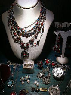 Yiousouri Thessaloniki, Fabric Jewelry, Jewelry Shop, Greece, Diy, Fashion, Greece Country, Moda, Jewlery