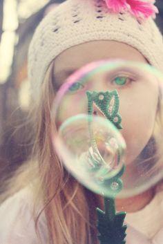 Bubble, Little Girl Photography Cleveland & Akron Ohio Photography