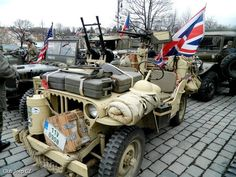 SAS jeep, the original crazy off road!