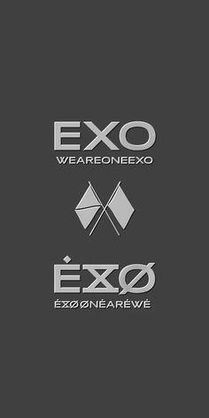 Exo Lockscreen, Screensaver, Nirvana, Baekhyun, Kai, Korea, Wallpapers, Logos, Random