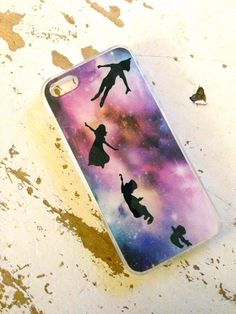 Peter Pan Galaxy iphone 4 5 case by Rosaliehandmade on Etsy Iphone 6 Cases, Diy Phone Case, Cute Phone Cases, Phone Covers, Iphone 5s, Samsung Galaxy S3, Galaxy 3, Htc One, Ipod Touch