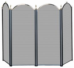 Uniflame 4 Panel Fireplace Screen & Reviews | Wayfair
