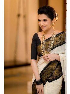 Indian Silk Sarees, Pure Silk Sarees, Cotton Saree, Bengali Saree, Ethnic Sarees, Dress Indian Style, Indian Fashion Dresses, Saree Fashion, Indian Outfits