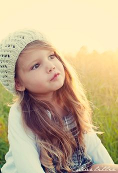 This little girl is absolutely adorable. Her mother takes beautiful pictures of her. Check out the blog.