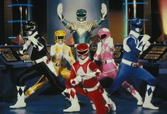 Mighty Morphin' Power Rangers (1993-1996). Fox. Starring Austin St. John, Amy Jo Johnson, Walter Jones, Thuy Trang, David Yost, and Jason David Frank (plus, Paul Schrier, Jason Narvy and David Fielding).