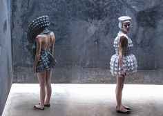 Dresses Inspired by Gothic Architecture