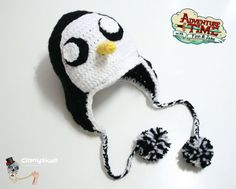 Hey, I found this really awesome Etsy listing at https://www.etsy.com/listing/205526526/beanie-penguin-gunter-adventure-time