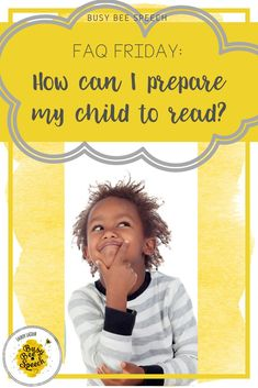Ideas and information for the SLP to share with parents. Gives phonological awareness activities and tips to help prepare their child to read.