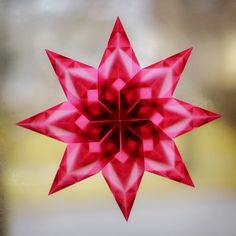 Transparent paper window stars http://violentlydomestic.com/2012/12/05/my-misspent-youth/