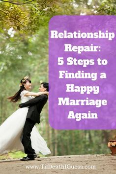 Tips and resources to help you fix a broken relationship and repair your marriage.   Here�s What You'll Learn: Change Your Negative Mindset Learn How To Date Again Develop Your Communication Skills Understand The Problems The Importance Of A Healthy Relat