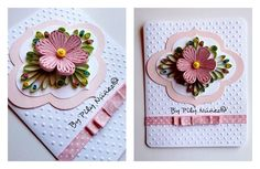 Quilling card by Pily Núñez/ Chile