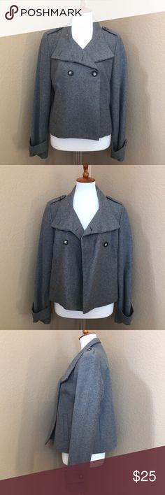 Gap Wool Jacket Nice Gap Wool Jacket. Perfect Condition. Fully Lined. Grey. Size Medium. GAP Jackets & Coats Pea Coats