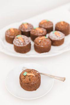 Edible Obsession: Mini Carrot Cakes