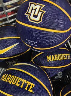 Marquette basketballs