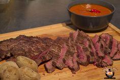 Carne Arrachera - Flank Steak spanische Art | BBQ-Hannover