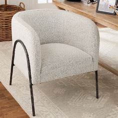 Accent Chairs For Living Room, Living Room Modern, Bloomfield Homes, Saddle Chair, Velvet Accent Chair, Bedroom Chair, Barrel Chair, Decor Styles, Home Furniture