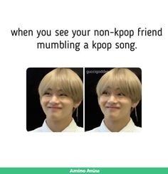 Lol ok so me and my other ARMY friend always sing Save Me because like why not. So our other friend has just recently began to sing it with us and we squeal every time