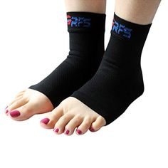 Ankle Compression Sleeves (Pair) - Lightweight Support for Plantar Fasciitis, Heel Spurs, Arch Pain, Foot Pain And Discomfort - Best Support for Running, Hiking, Sports & Everyday Wear - 100% Money Back Guaranteed! (Large) Run Forever Sports http://www.amazon.com/dp/B00V3RWA5W/ref=cm_sw_r_pi_dp_kz2Avb10HAN7H
