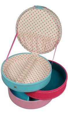 Circular Sewing Box