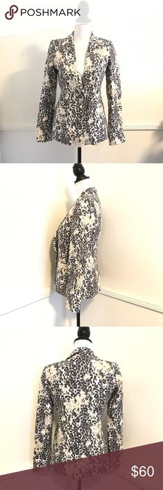 JOIE jacket size 4 Dress up or down with this JOIE size 4 jacket, perfect for the office or to wear with jeans jacket is in great condition measurements pictured.  Open to offers ! Joie Jackets & Coats Blazers