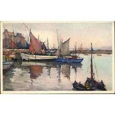 29 - Le port de Douarnenez par Marc | eBay