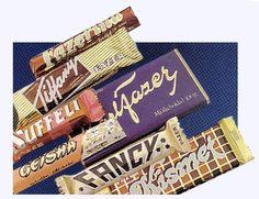 Fazerin suklaita (80-luvulta?)