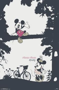 Disney- Minnie Mouse Pretty Prints at AllPosters.com