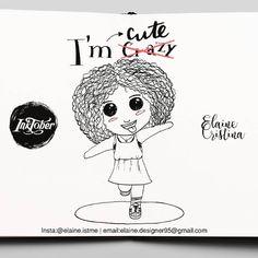 ^_^ #Inktober2016 #inktober #day18 #ink #drawing #draw #lettering #cute #crazy #creativity #inspiration #wanderlust #instalettering #instaart #illustration #chibi #mangá