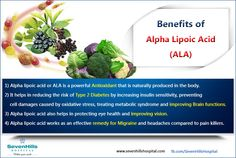 Benefits of Alpha Lipoic Acid (ALA) Alpha Lipoic Acid, Metabolic Syndrome, Oxidative Stress, Health And Nutrition, Metabolism, Benefit, Treats, Products, Sweet Like Candy