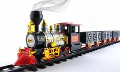 Amazon.com: Classic Train with Sound, Light, and Real Smoke by MOTA: Toys & Games $39.99