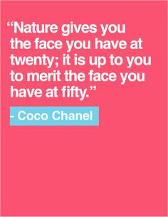 Quote of the Day: Coco Chanel